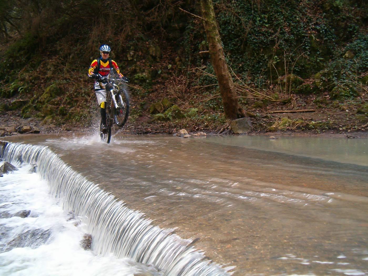 trail in Mountain Bike