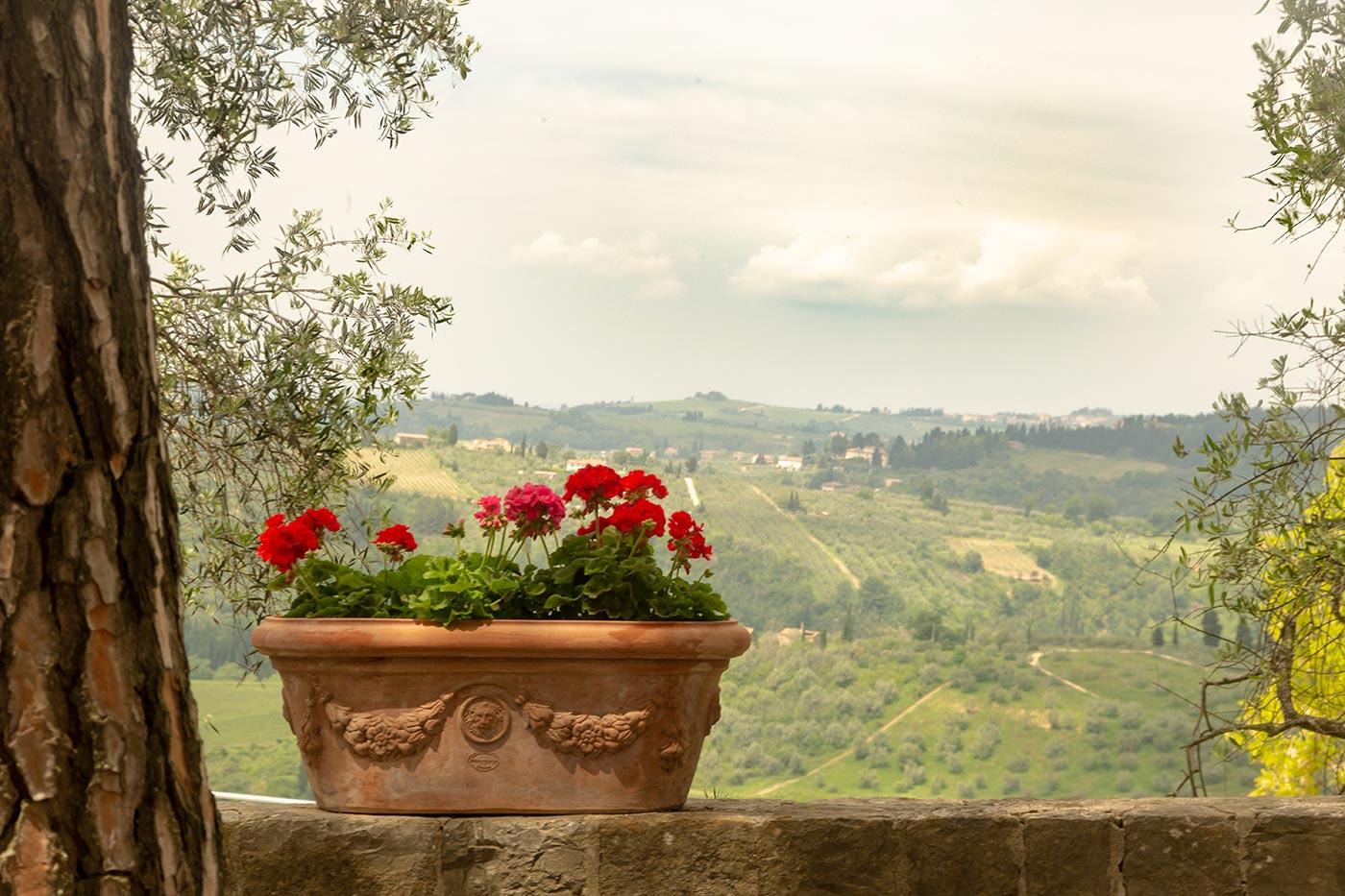 Panorama in Barberino Val d'Elsa