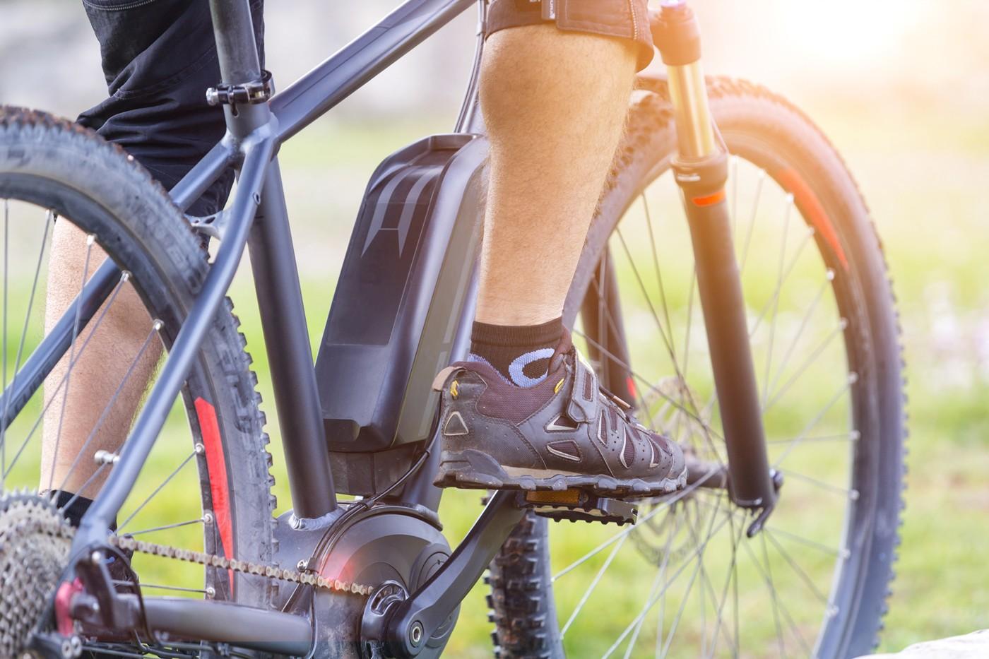 Batteria ricaricabile di una e-bike