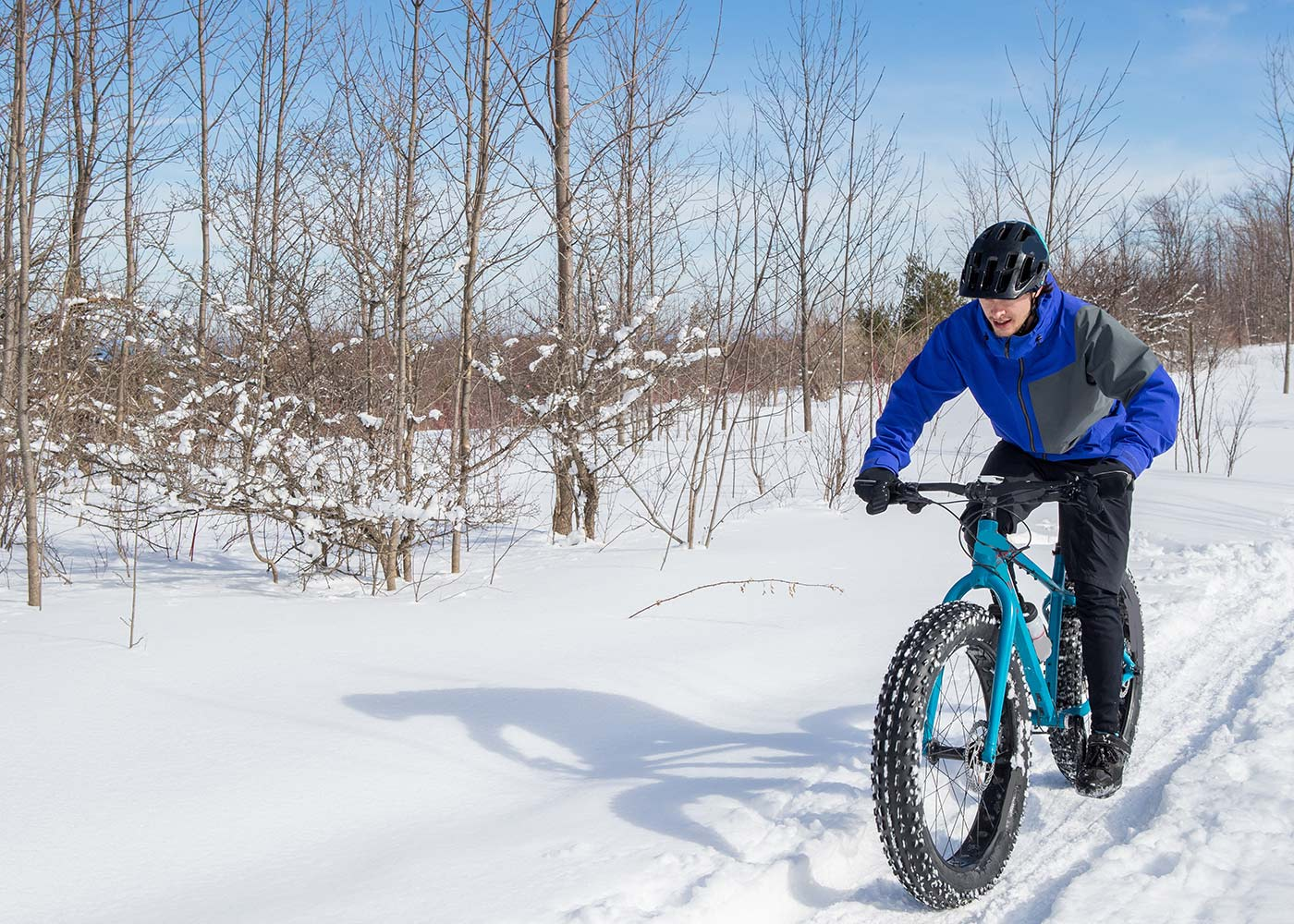 Tips for riding fat bike in snow