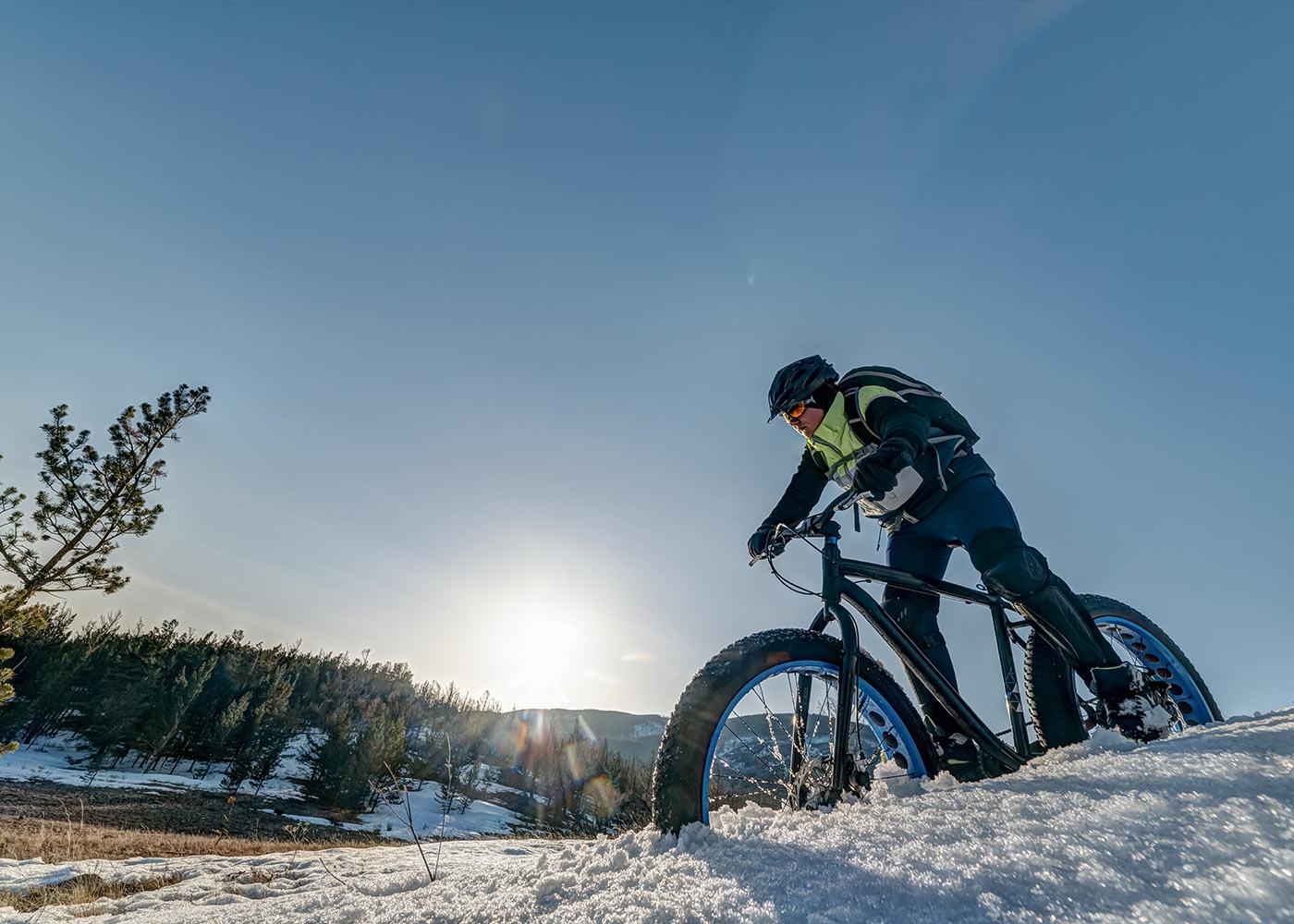 Fat Bike on mountain