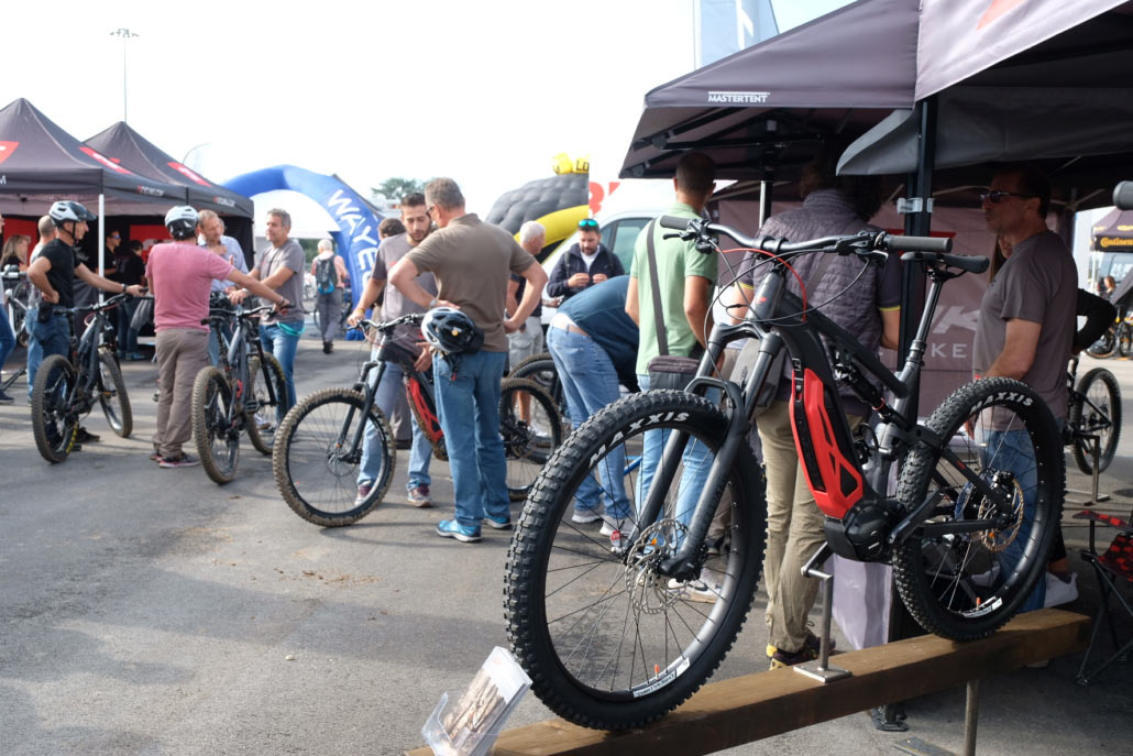 mountain bikes at Verona fair