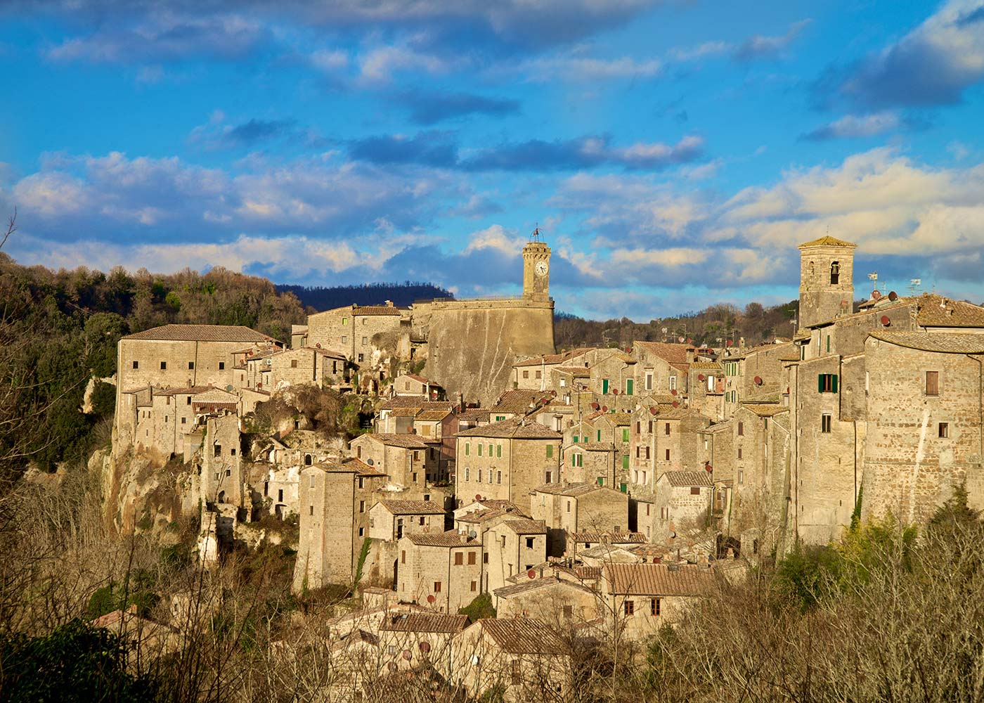 Sorano the Tuscan Matera