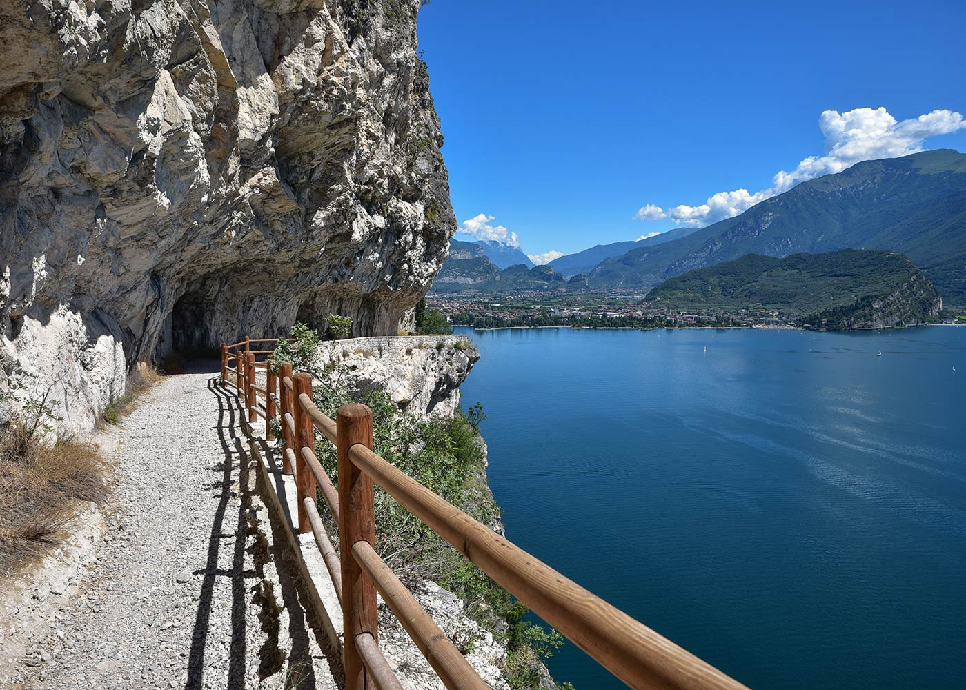 The Ponale trail in Riva del Garda: a wonderful cycling route