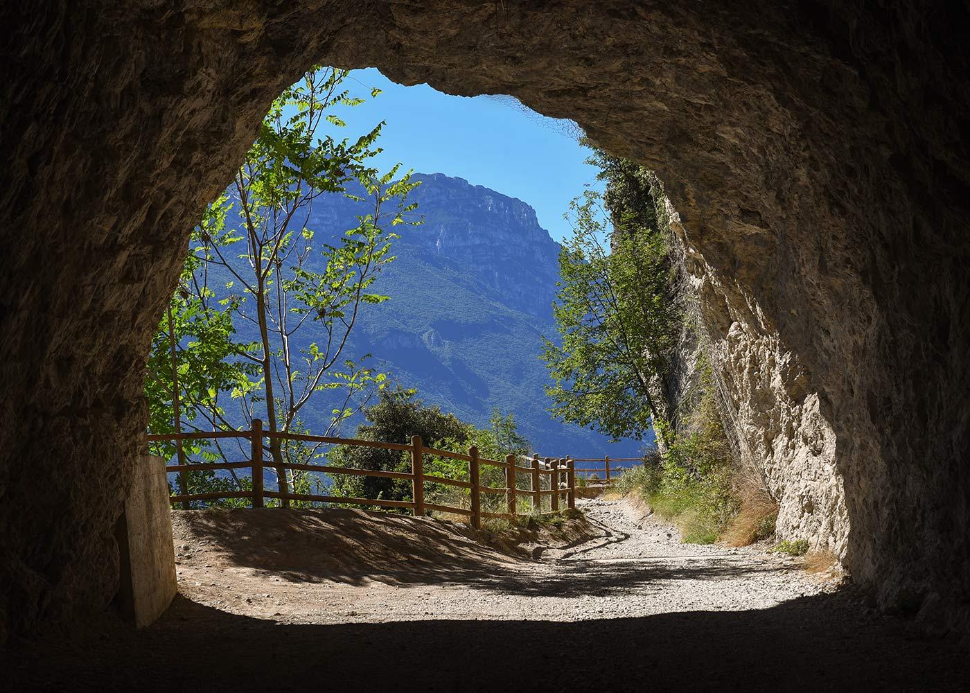 Ponale strada a picco sul lago di Garda