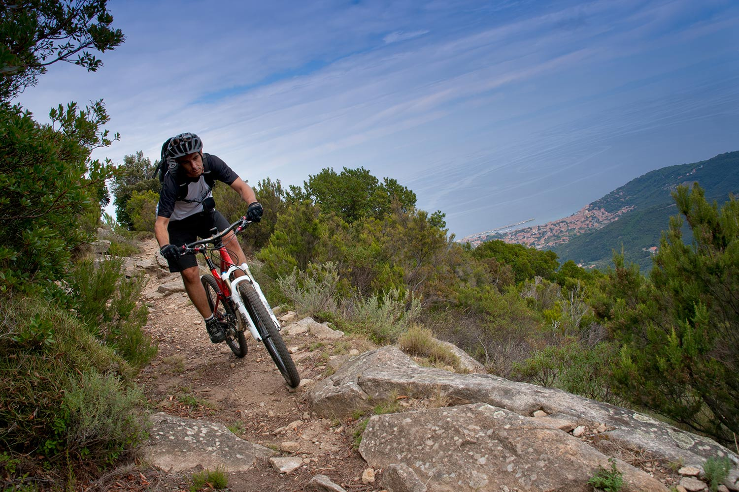 Cycling in Elba: 4 recommended routes