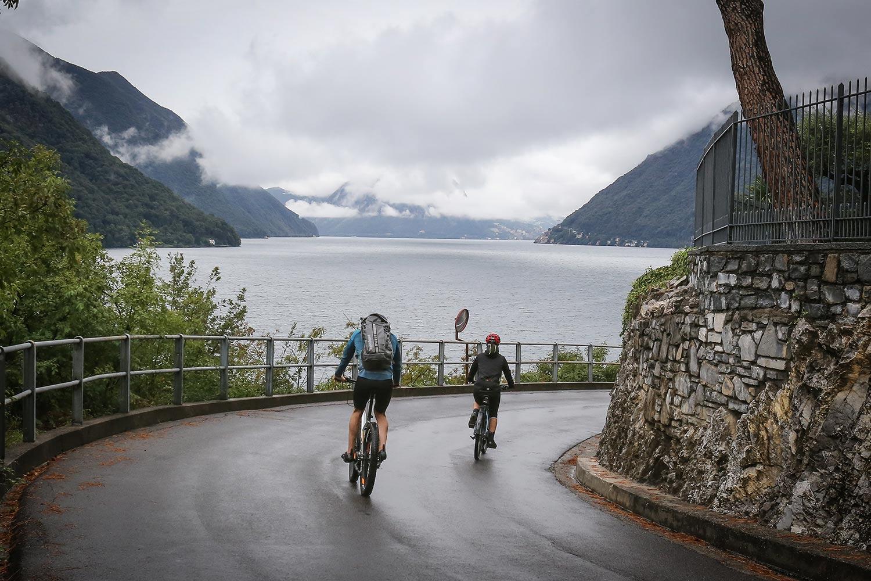 Cycling Routes around Como lake
