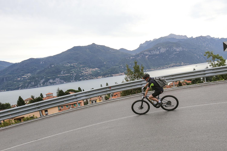 Tour Guidato in Bici sul lago di Como