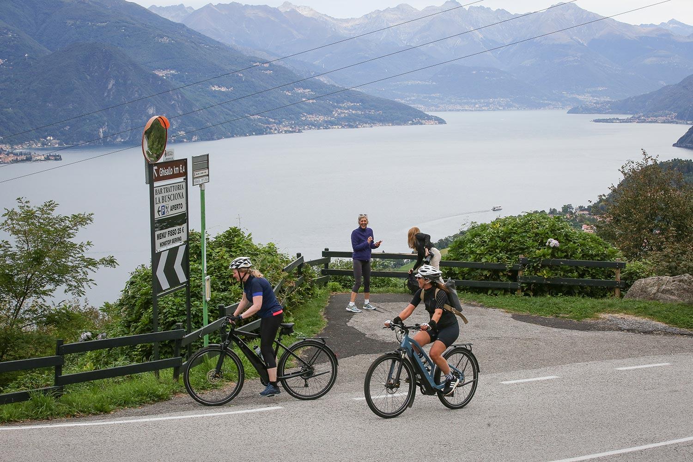 Salita del Ghisallo in bici