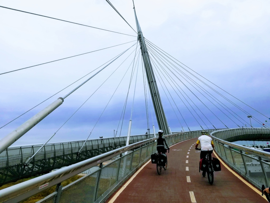Ponte del Mare ciclabile Pescara