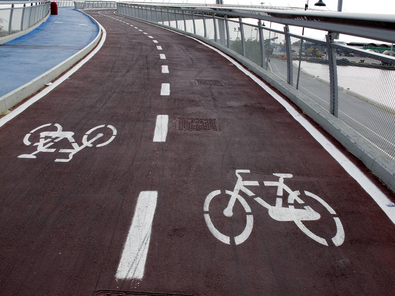 Itinerari in bicicletta a Pescara