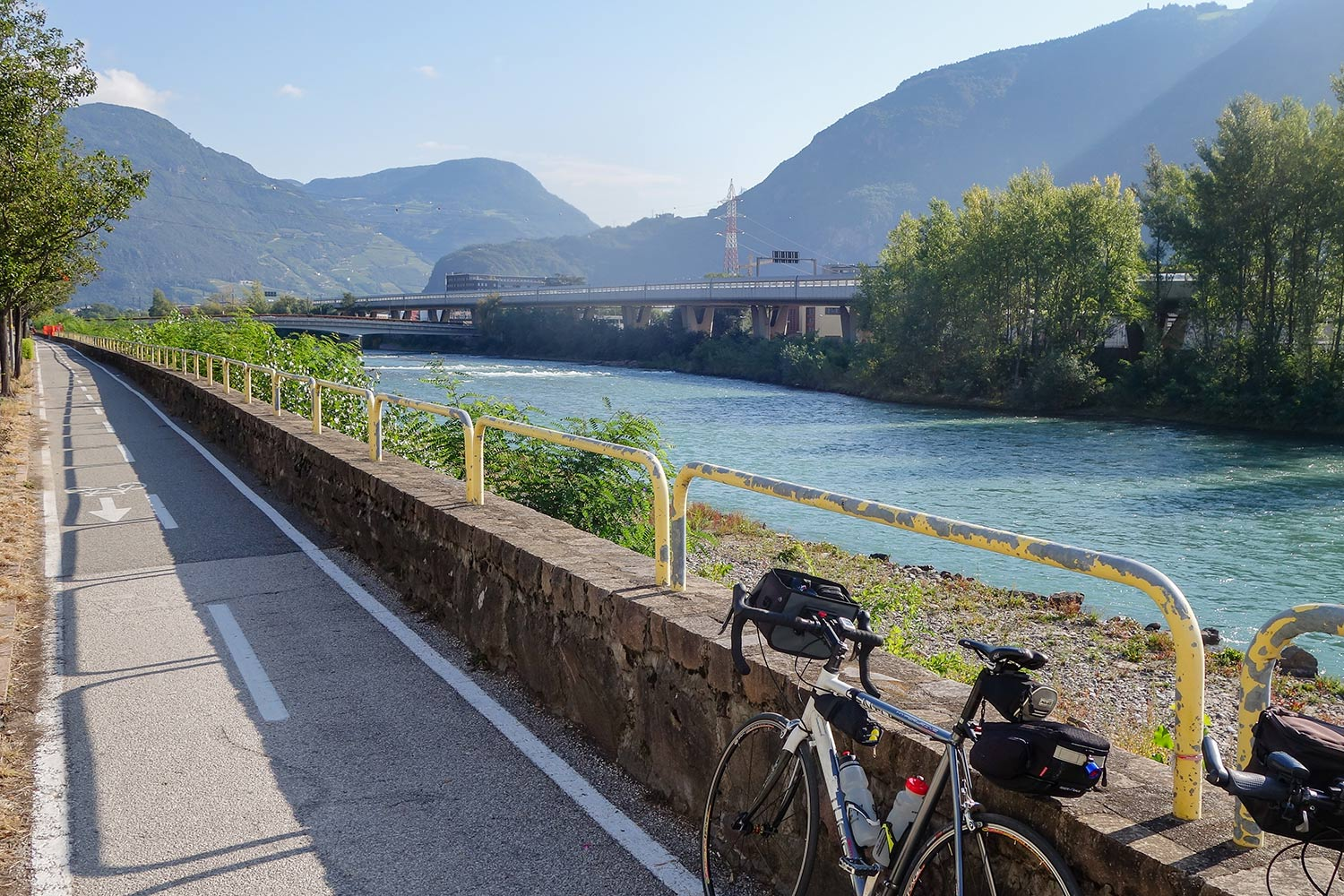 Bolzano Bike Route