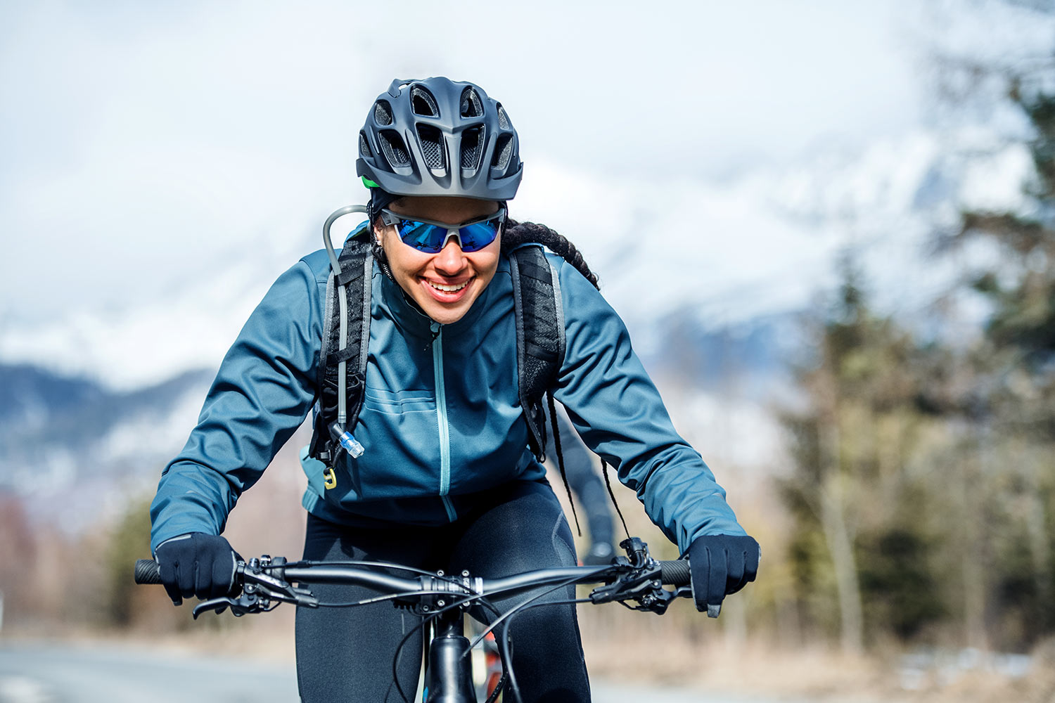 advices for cycling in winter season