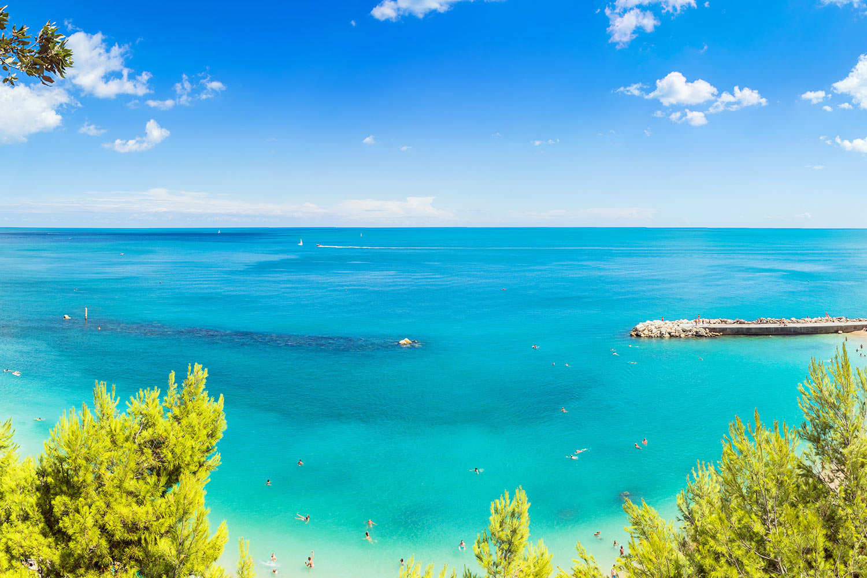 Monte Conero Veduta sul Mare Adriatico