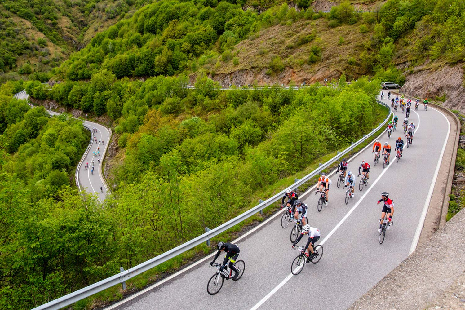 Gran Fondo long distance road cycling rides