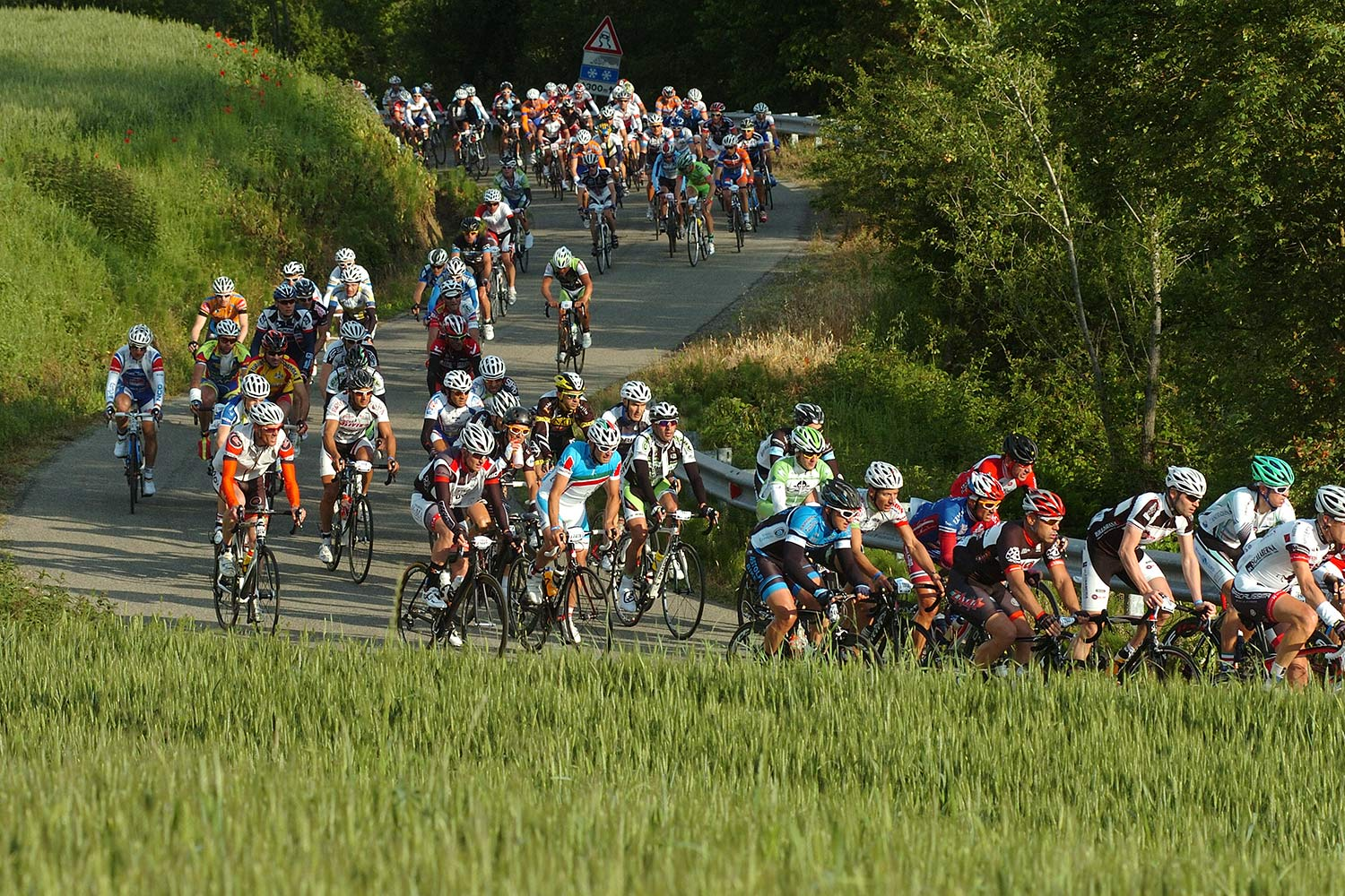 Gran Fondo Nove Colli cycling race in Italy