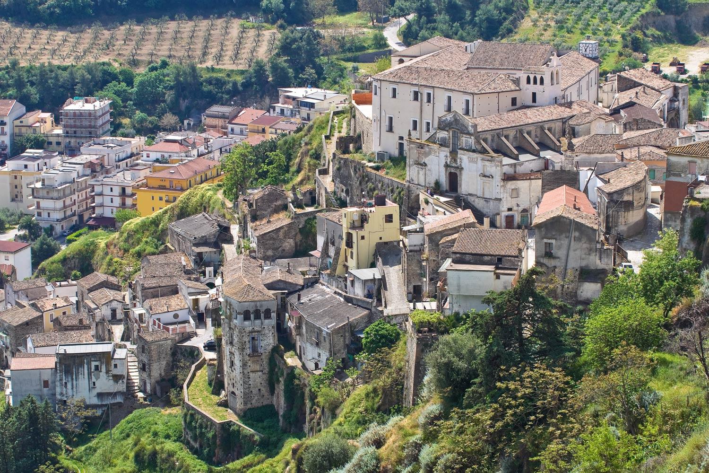 Tursi hamlet in Basilicata