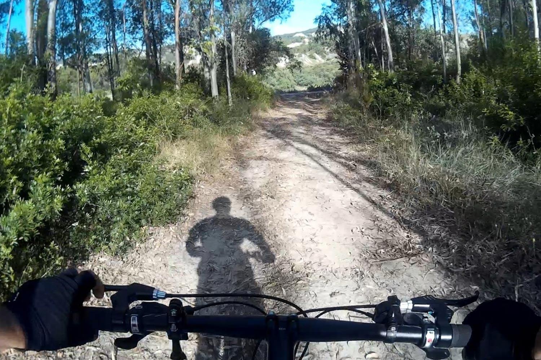 Calanchi Di Montalabano Jonico on mountain bike