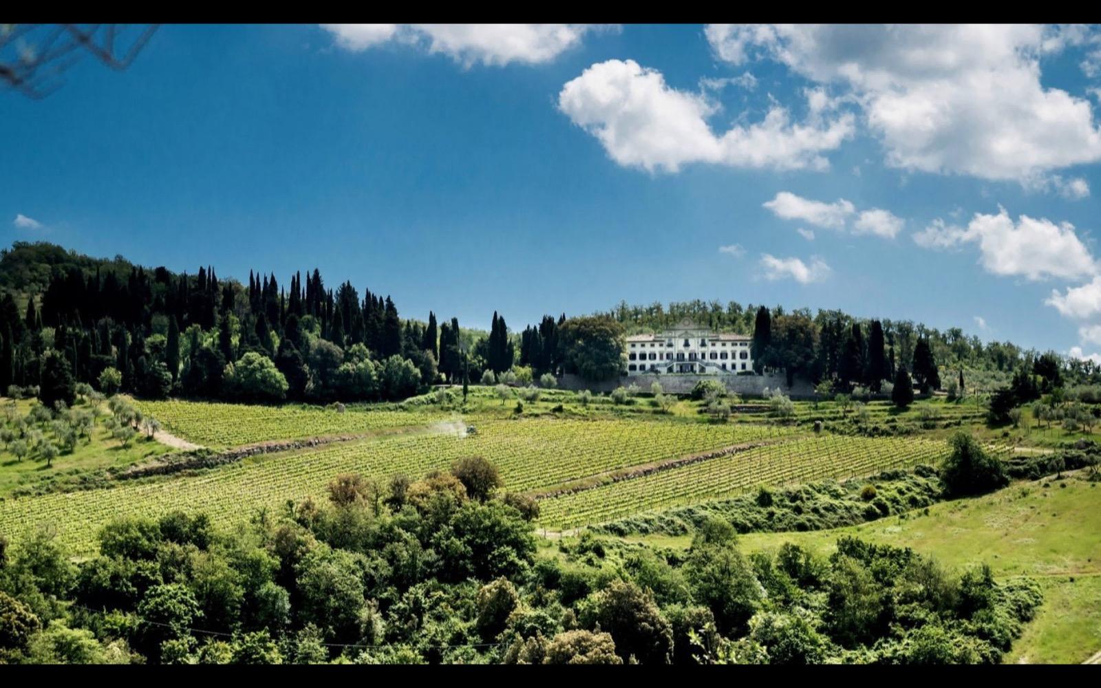 villa vistarenni Toscana